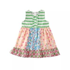 Other - Boutique-style Patchwork Bunny Dress